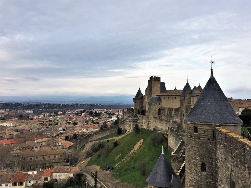 carcassonne außenmauer