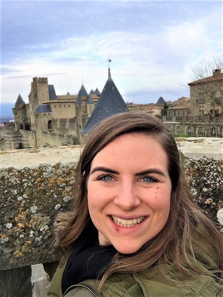 carcassonne selfie