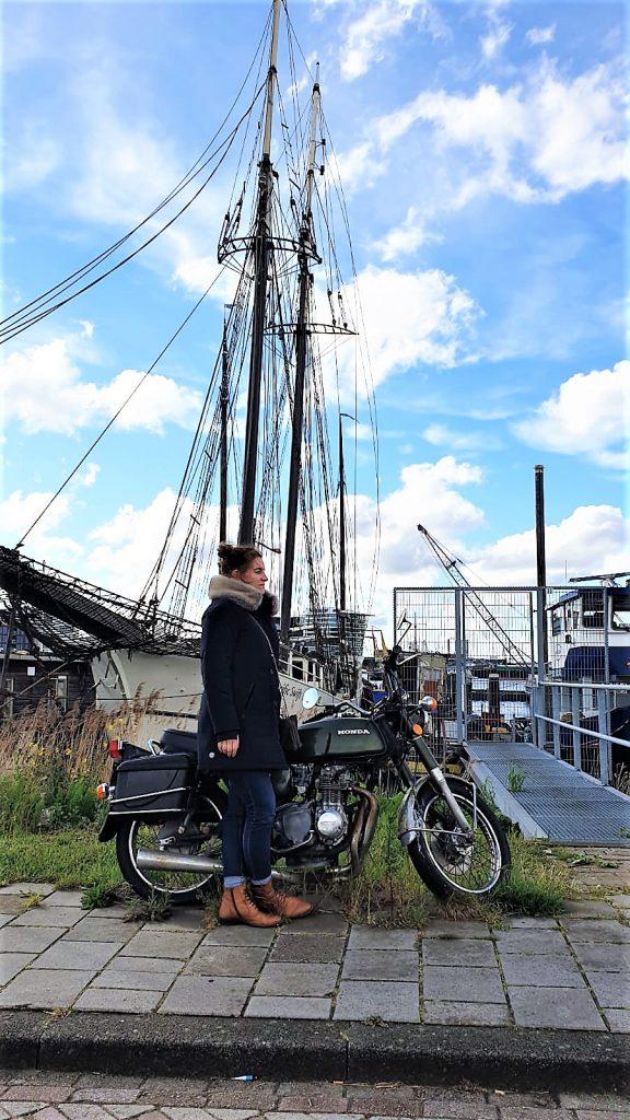 amsterdam rem eiland motorrad