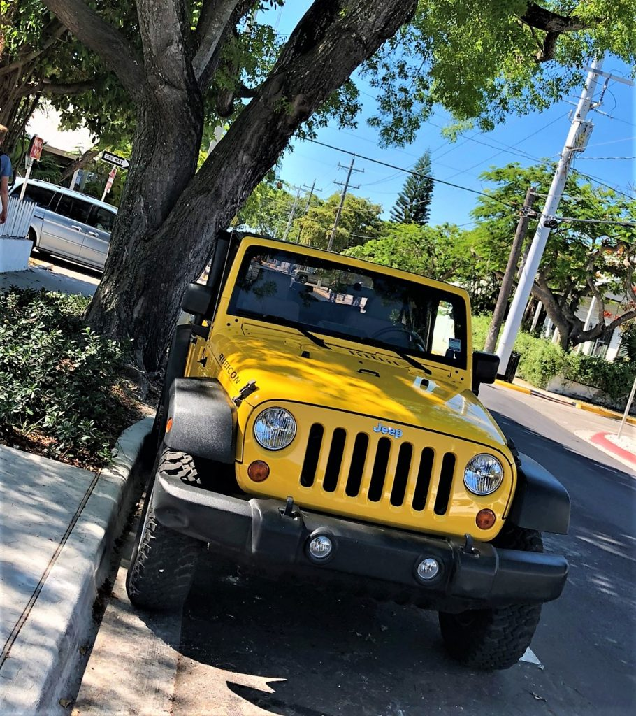 key west streets jeep