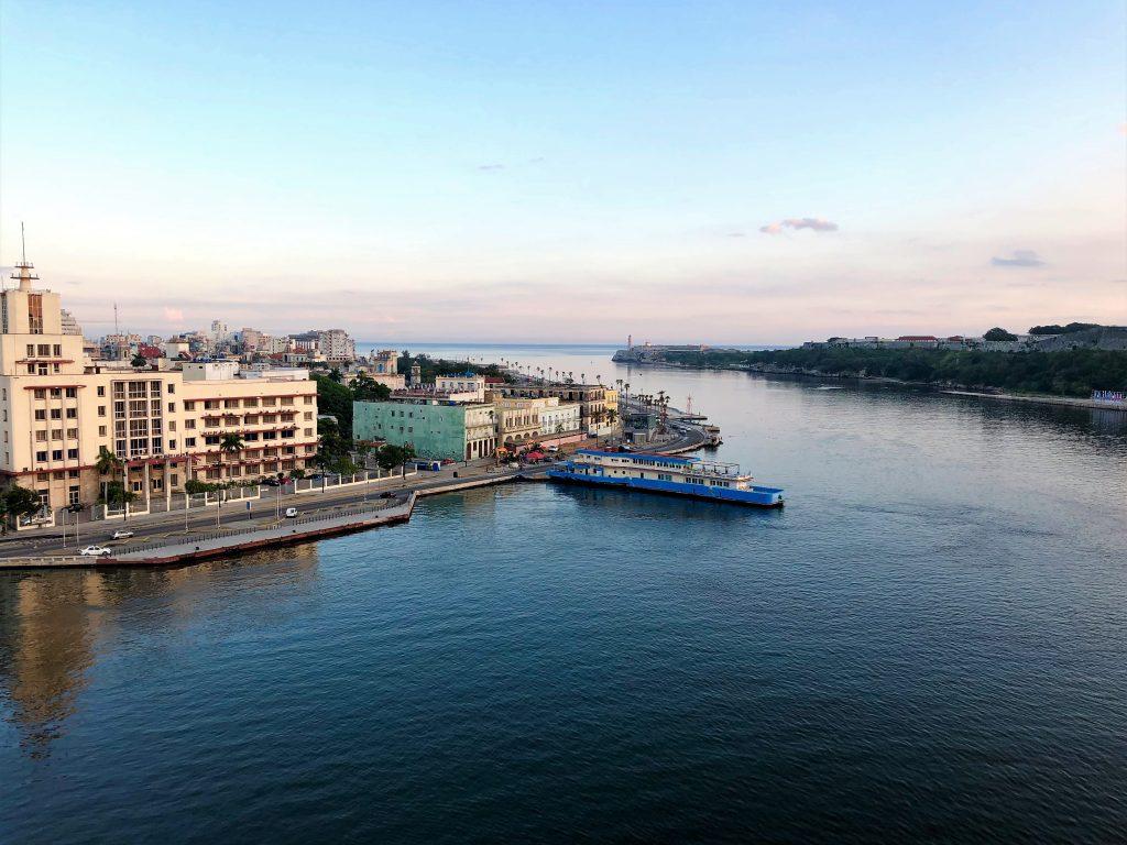 havana port view cuba