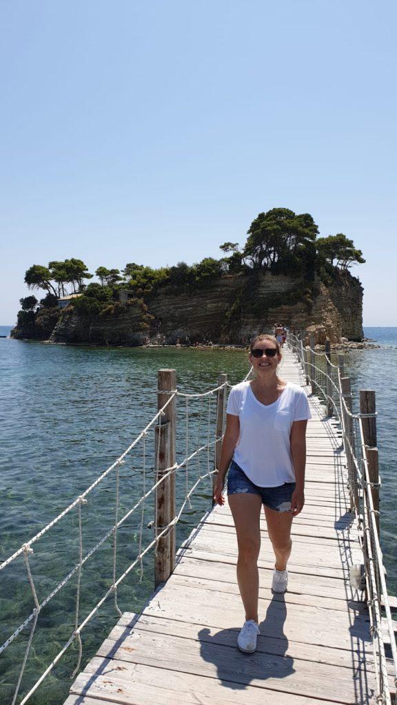 agios sostis bridge coney island zakynthos
