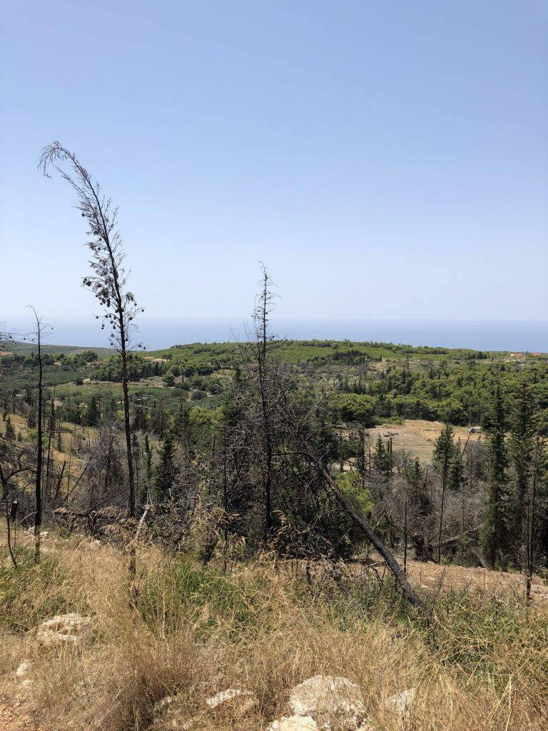 zakynthos landscape hills view