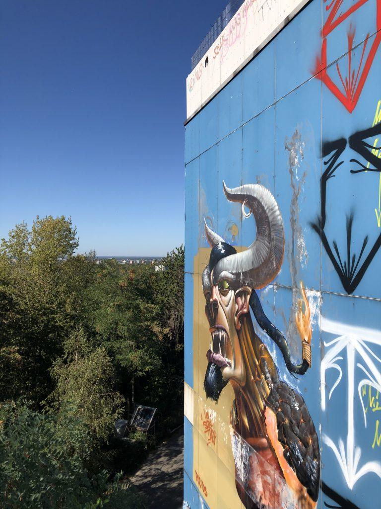 berlin-teufelsberg graffiti