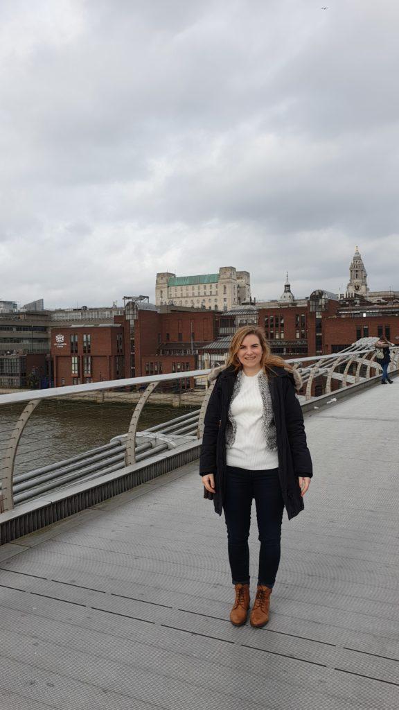 london citytrip 2020 tate modern bridge