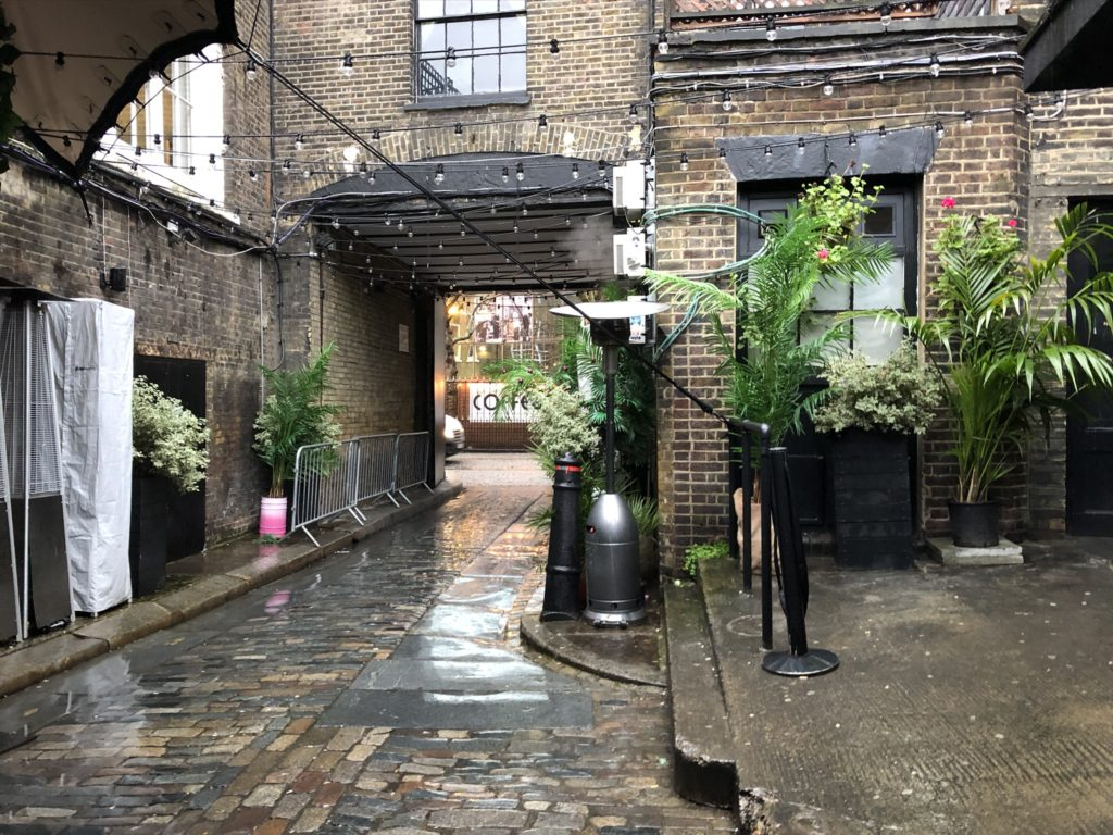 london shoreditch streets 2020 rain