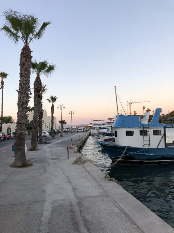 Kos Stadt Boote