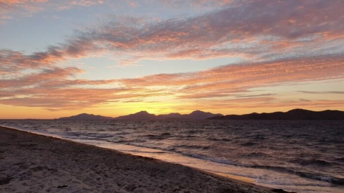 Tigaki Beach Sunset